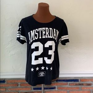 Amsterdam Designs Black #23 T- Shirt